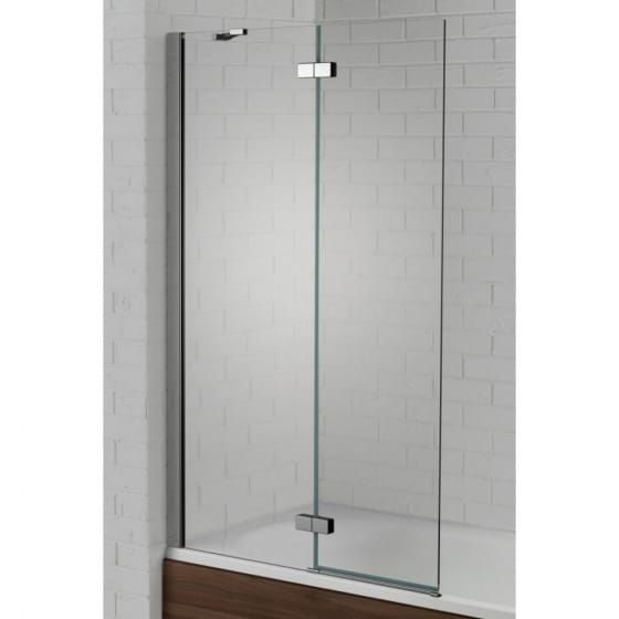 Image of Aquadart Venturi 6 Hinged Bath Screen