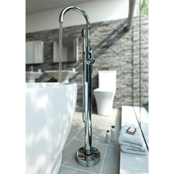 Image of BTL Primo Floor Standing Bath/Shower Mixer
