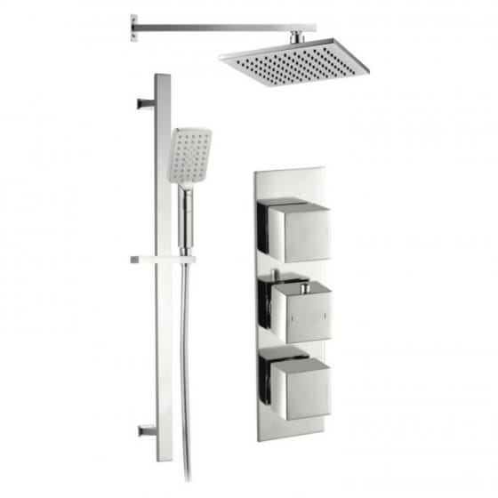 Image of BTL Rhomba Slim Triple Concealed Mixer Shower