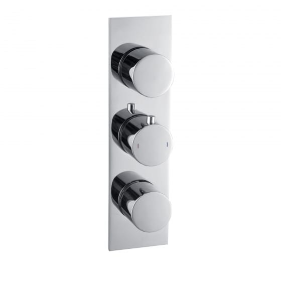 Image of BTL Sphere Thermostatic Triple Shower Valve