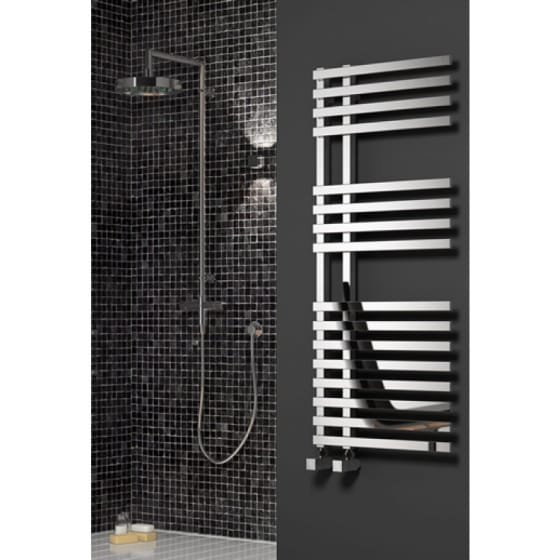 Image of Reina Felino Steel Heated Towel Rail