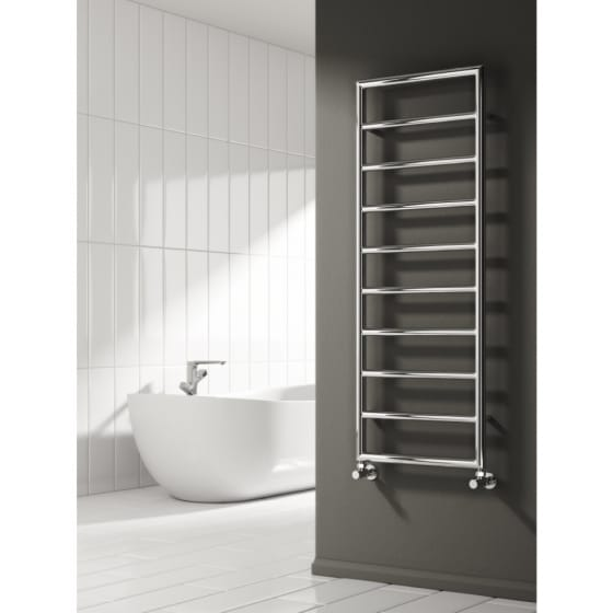 Image of Reina Nardo Steel Heated Towel Rail