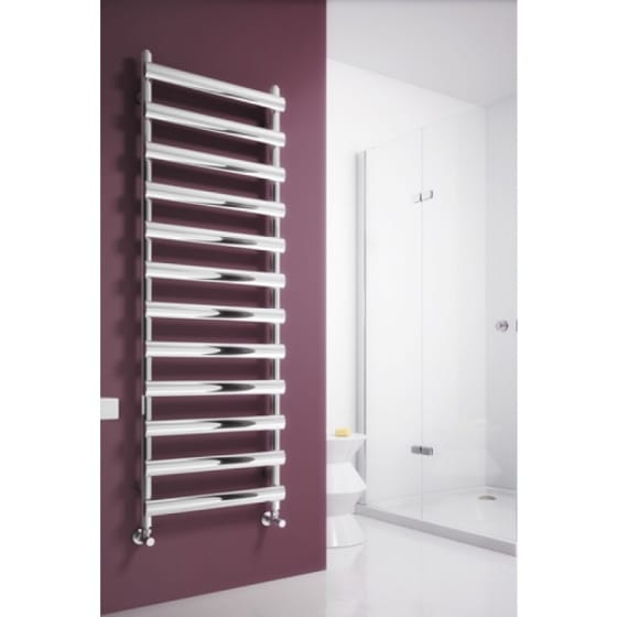 Image of Reina Deno Stainless Steel heated Towel Rail