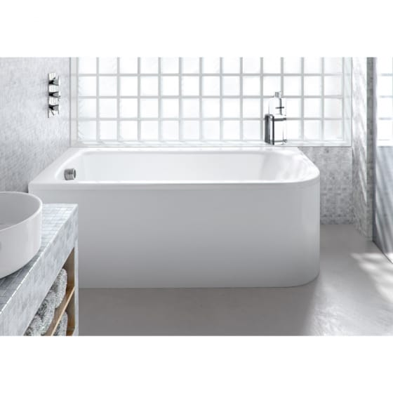 Image of Britton Cleargreen Viride Offset Bath